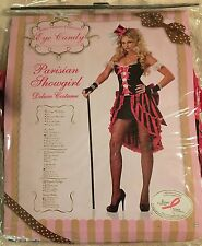 Women's Parisian Showgirl Adult Eye Candy Size Small By California Costumes