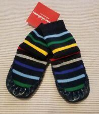 Nwt Hanna Andersson Navy Rainbow Stripes Slipper Socks Size 2-4 Baby/Toddler