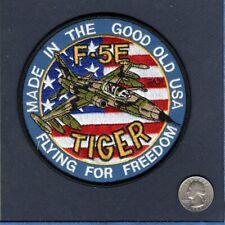 F-5 F-5E TIGER USAF NAVY TFS FS VNAF Foreign Northrop Fighter Squadron Patch
