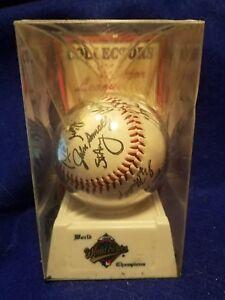 Sealed ~ Official Major League Autographed Baseball '95 Atlanta Braves WS Champs
