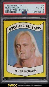 1982 Wrestling All-Stars Series A Hulk Hogan #2 PSA 4 VGEX