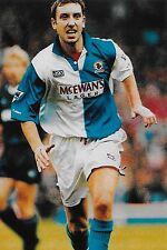 Football Photo>JASON WILCOX Blackburn Rovers 1994-95