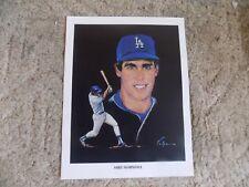 1982 Los Angeles Dodgers Union 76 Oil Print: Mike Marshall
