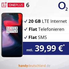 ❤️ OnePlus 6 Dual-SIM | 20 GB LTE max. 225 MBit/s | Aktion:o2 Vertrag + Handy ❤️