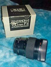 Zenza Bronica ETR ETRs ETRSi Zenzanon MC 150mm F4 automatic diaphragm lens