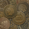 Lot of (5) Indian Head Cents (1859-1909) - Choose How Many!