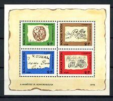 Hungría 1972 Sg #ms 2680 Día Del Sello Mnh m/s #a 36762