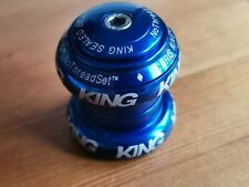 "Chris King 1 1/8"" Headset Blue"