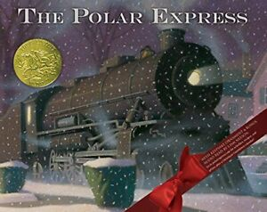 Polar Express 30th Anniversary Edition by Van Allsburg, Chris Book The Fast Free