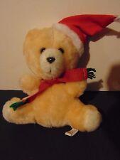 Armbee Christmas Bear Teddy Santa Hat Vintage LOOK!