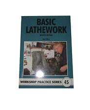 BASIC TORNIO LAVORO OFFICINA pratica SERIE BOOK 45 LIBRO INGEGNERIA