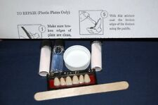 False Teeth Repair!  Denture Repair Kit w/ 6 Front Denture Teeth Included!