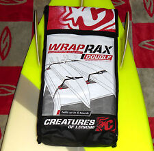 Creatures of Leisure Surfboard Car Soft Racks - Team Designed Wrap Rax Double