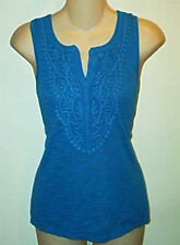 Cable & Gauge NWT  Petites  Casual Split Front  Tank Top Sz  P