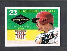 DAVID FREESE #DM13 Cardinals Defining Moments 2013 panini Hometown Heroes