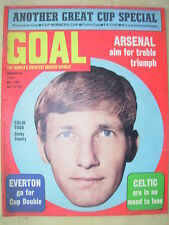 GOAL MAGAZINE MARCH 6 1971 CUP SPECIAL - BILLY BREMNER - JOHN HOLLINS COLIN TODD