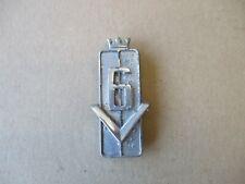 """Logo Modèle Signe Emblème """"v6"""" sur garde boue 11703006 Oldtimer Ford Taunus p7"""