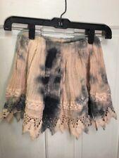 45. Jen's Pirate Booty Free People Crochet Skirt Small New