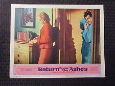 "1965 RETURN FROM THE ASHES Original 14x11"" Lobby Card #5 VG+ 4.5"