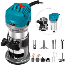 Compact Router Kit Variable Speed Fixed-Base 710W Hand Trimmer Tool Installation