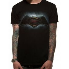 Batman VS Superman - Logo Unisex Black T-shirt Small