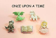 DRESS IT UP NOVELTY BUTTONS 7021 - CRAFTS CAKE-MAKING CARDS - ONCE UPON A TIME