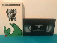 Les meilleurs moments de juste pour rire VHS tape & sleeve FRENCH