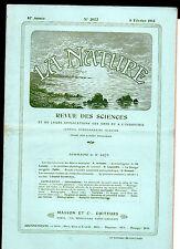La Nature -  Fév.1913 - Revue des sciences - Fourmis à Miel du déserts Mexicain
