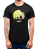 Pikachu Hakuna Mattata T-Shirt Adults Sizes Black 100% Cotton Shirt