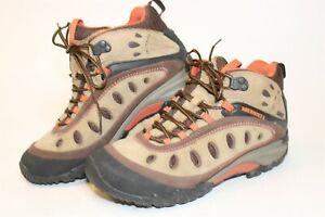 Merrell Womens 8.5 39 Chameleon Arc 2 Mid Waterproof Leather Hiking Boots J88474