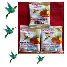 Value Buy! 3 Pkgs Hummingbird Nectar/Food Instant No Boiling