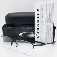 NEW Oakley Taproom 0.5 RX Glasses Frame Black OX3202-0252 52mm 3202 Half Rim