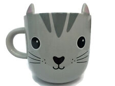 SASS & BELLE NORI CAT KAWAII FRIENDS CERAMIC MUG CUP ANIMAL NOVELTY TEA COFFEE