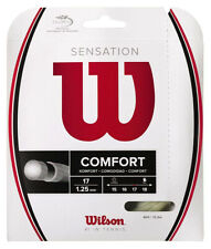 WILSON SENSATION COMFORT TENNIS STRING 1.25MM 17G ONE 12M SET NATURAL - RRP £20