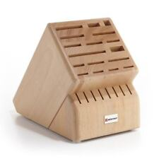 Wusthof 25 Slot Knife Storage Block, Beachwood  ***NEW***
