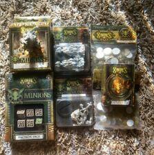 Hordes Minions Token Set Dice Gun Boar Bone Shrine Calaban Grave walker lot