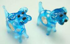 1pcs SILVER MURANO GLASS BEAD LAMPWORK Animal fit European Charm Bracelet NK4