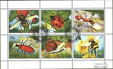 Sharjah 1204-1209 Sheetlet (complete issue) used 1972 Insects