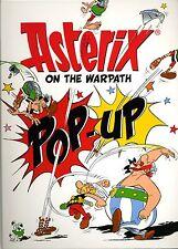 ASTERIX On The Warpath Pop-Up Book-anglais-Produit Neuf -