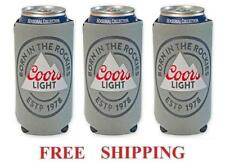 Coors Light Rockies 3 Beer Can Cooler 16oz Coozie Coolie Koozie Huggie New