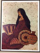 Native American Basket Weaver Print Basket Beauty by Marilyn Salomon 306/385 COA