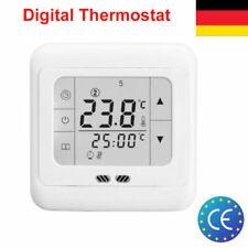 Touchscreen Digital Thermostat Fußbodenheizung Raumthermostat Programmierbar DE