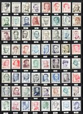 Great Americans Complete 1844-69 2168-97 2933-43 (64 MNH Stamps)