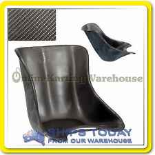 GO KART SEAT CARBON FIBRE Sm to XL ITALIAN MADE LOOK and FEEL THE PART ! NEW !