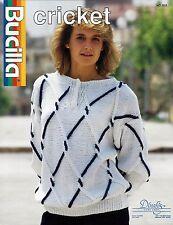 Bucilla Knitting Patterns Set of 8 - Women's Sweater Patterns