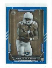 2015 Bowman Rainbow Blue #R36 Malcolm Brown Rookie Rams Texas /499