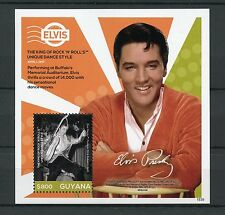 Guyana 2015 Mnh Elvis Presley His Life in Stamps 1v S/S I King Rock 'N' Roll