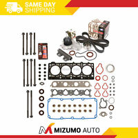 Head Gasket Set Timing Belt Kit Water Pump Fit 96-99 Dodge Plymouth SOHC