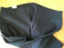 Men's Denver Black cotton chinos 34R, quite smart