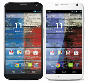 UNLOCKED MOTOROLA XT1058 MOTO X AT&T 16GB ANDROID SMARTPHONE Black / White Used